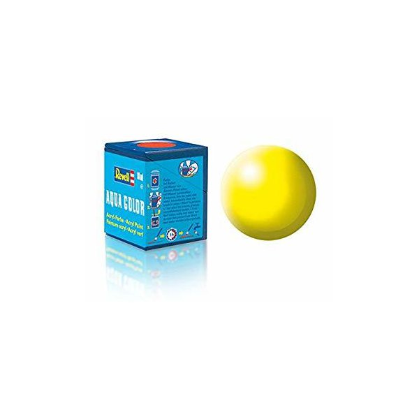Revell 312 - Aqua Color Luminous Yellow - Silk Boya - 18 ml
