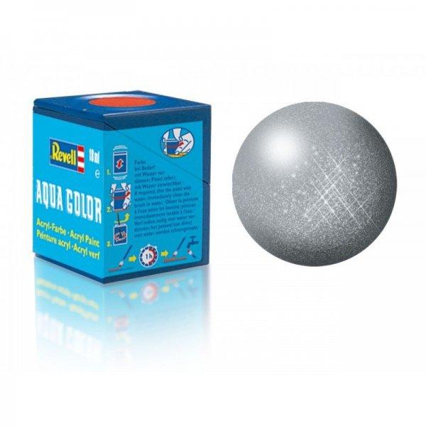 Revell 91 - Aqua Color Steel - Metallic Boya - 18 ml