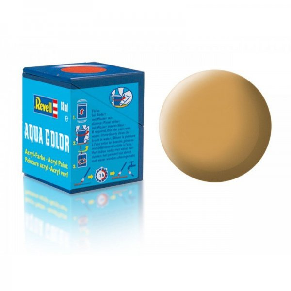 Revell 88 - Aqua Color Ochre Brown - Mat Boya- 18 ml