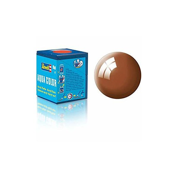 Revell 80 -Aqua Color Mud Brown - Gloss Boya- 18 ml