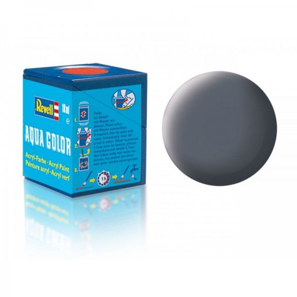 Revell 77 -Aqua Color Dust Grey - Mat Boya- 18 ml