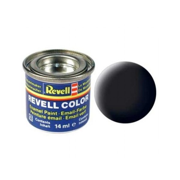 Revell 08 Email Color - Black - Mat - Boya 14 ml