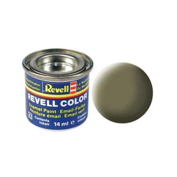 Revell 45 Email Color - Light Olive - Mat - Boya 14 ml