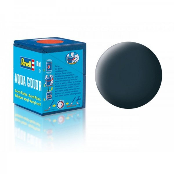 Revell 69 -Aqua Color Granite Grey - Mat Boya - 18 ml