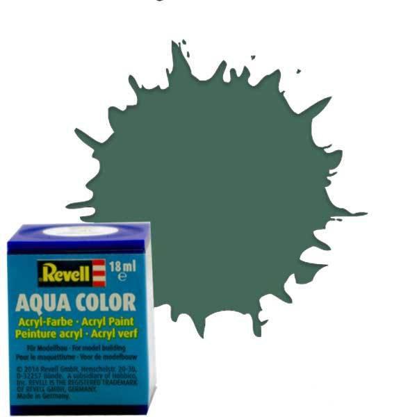 Revell 67 - Aqua Color Greenish Grey - Mat Boya- 18 ml