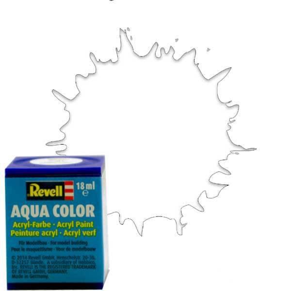 Revell 02 -Aqua Color Clear - Mat Boya- 18 ml