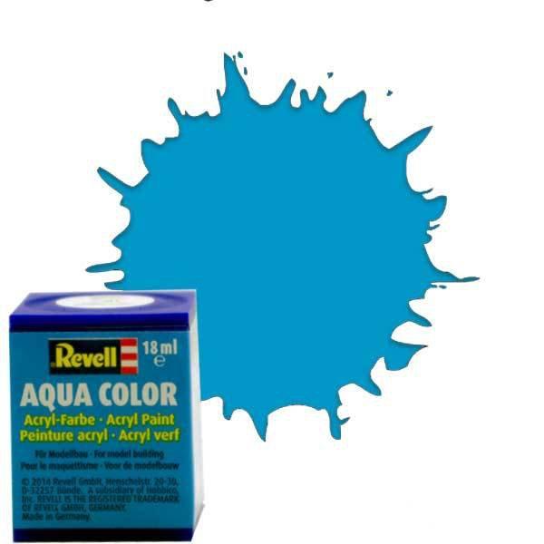 Revell 50 -Aqua Color Light Blue - Gloss Boya- 18 ml