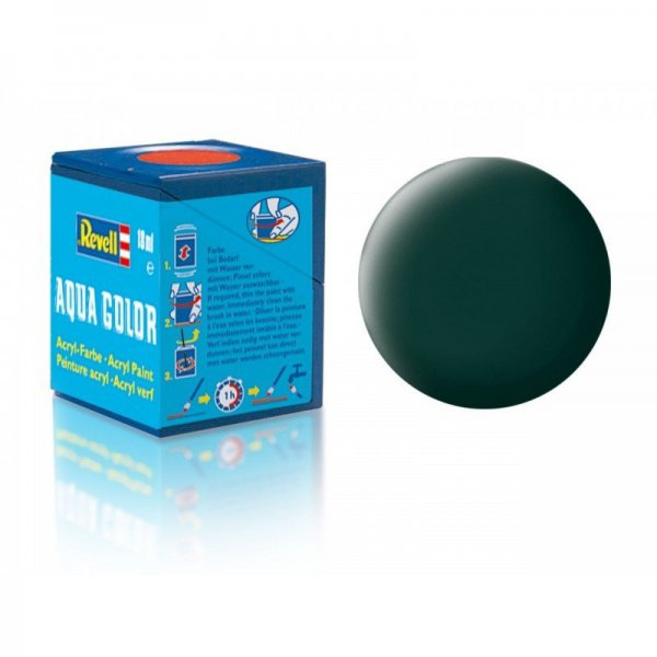 Revell 40 - Aqua Color Black Green - Mat Boya- 18 ml