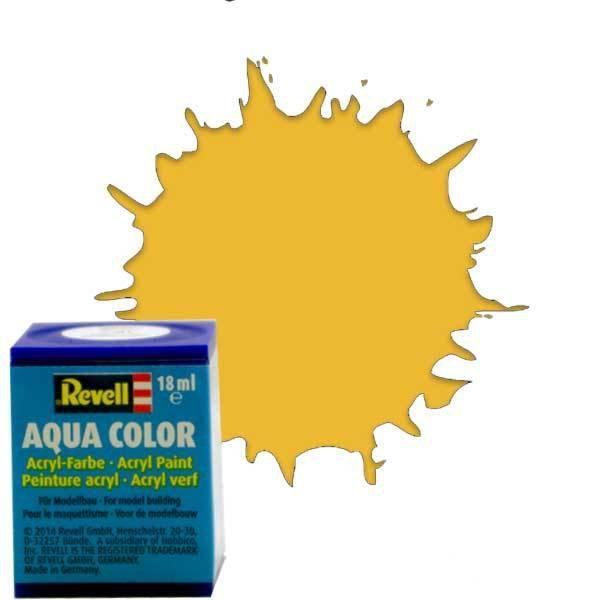 Revell 16 -Aqua Color Sandy Yellow - Mat Boya- 18 ml