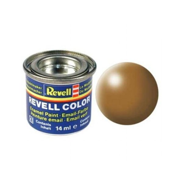 Revell 382 -Email Color Wood Brown - Silk Boya- 14 ml