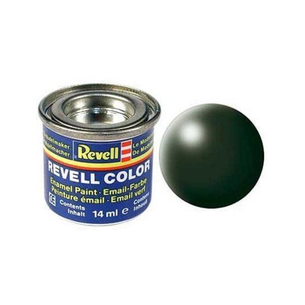 Revell 363 - Email Color Dark Green - Silk - Boya 14 ml