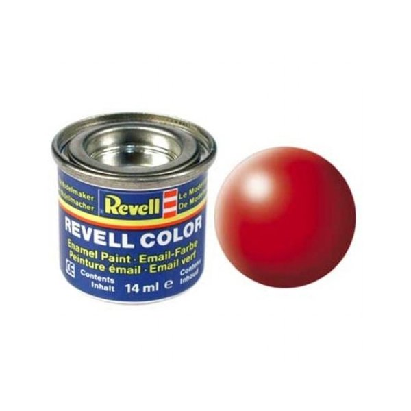 Revell 332 - Email Color Luminous Red - Silk - Boya 14 ml