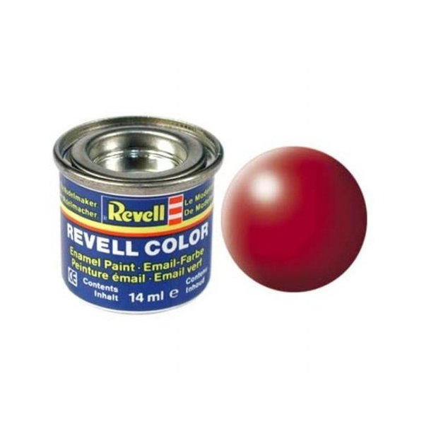 Revell 330 - Email Color Fiery Red - Silk - Boya 14 ml