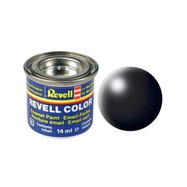 Revell 302 - Email Color Black - Silk - Boya 14 ml