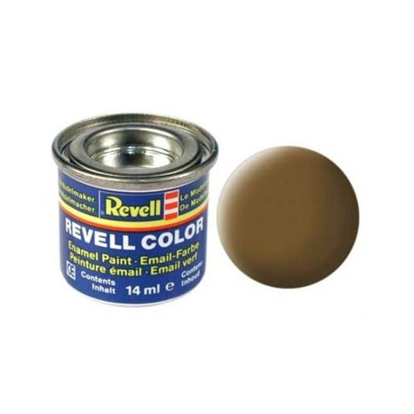 Revell 87 - Email Color Earth Brown - Mat - Boya 14 ml