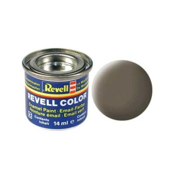 Revell 86 - Email Color Olive Brown - Mat - Boya 14 ml