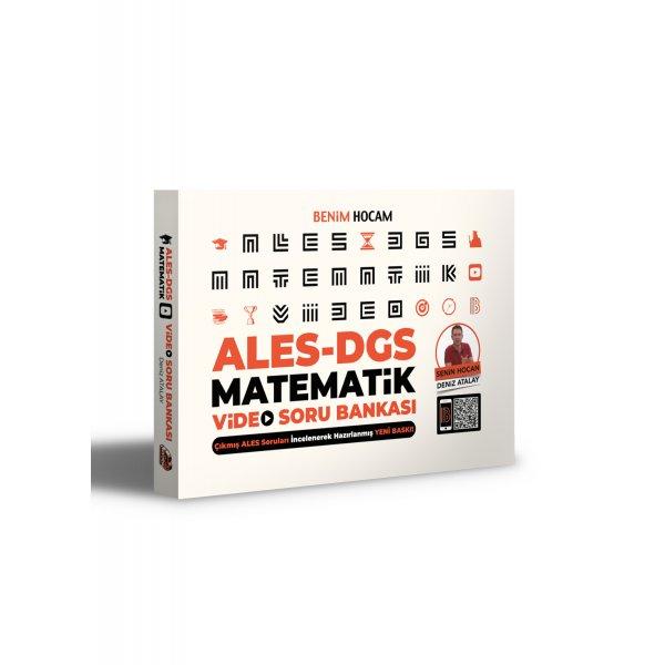2021 ALES DGS Matematik Video Soru Bankası Benim Hocam Yayınları