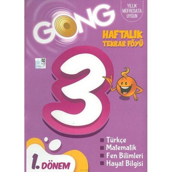 3. Sınıf Haftalık Tekrar Föyü 1. Dönem Gong Yayıncılık