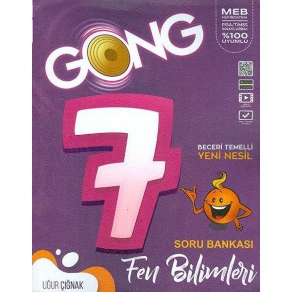 7. Sınıf Fen Bilimleri Soru Bankası Gong Yayıncılık