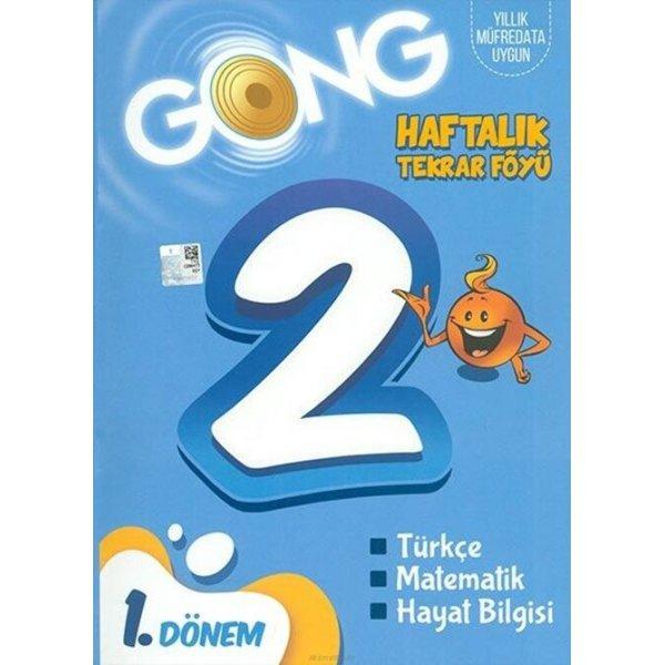 2. Sınıf Haftalık Tekrar Föyü 1. Dönem Gong Yayıncılık