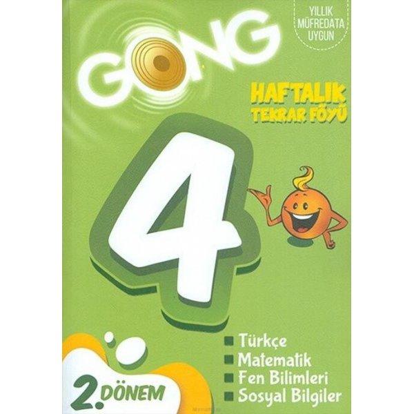 4. Sınıf Haftalık Tekrar Föyü 1. Dönem Gong Yayıncılık
