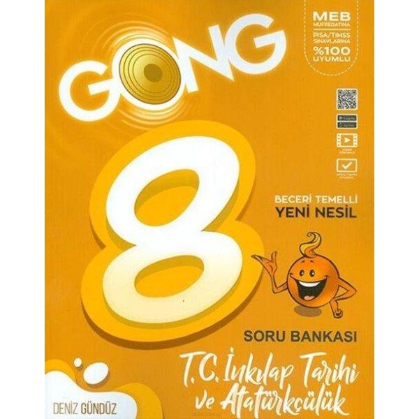 8. Sınıf LGS  İnkılap Tarihi ve Atatürkçülük Soru Bankası Gong Yayıncılık