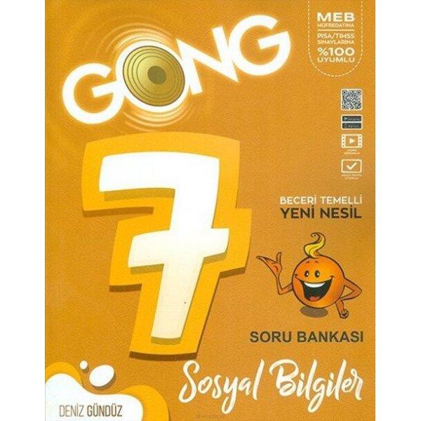 7. Sınıf Sosyal Bilgiler Soru Bankası Gong Yayıncılık