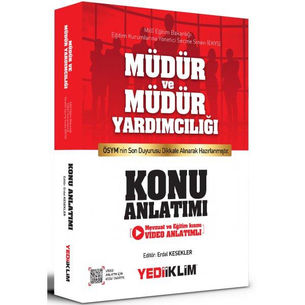MEB EKYS Müdür ve Müdür Yardımcılığı Konu Anlatımı Yediiklim Yayınları