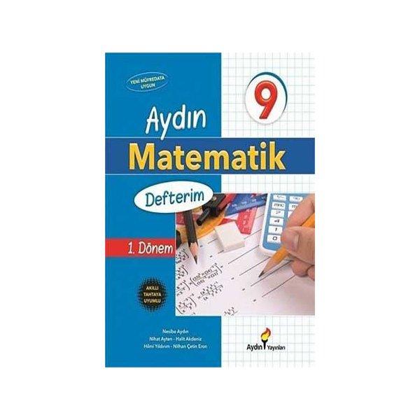9. Sınıf 1. Dönem Matematik Defterim Aydın Yayınları