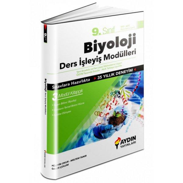9. Sınıf Biyoloji Ders İşleyiş Modülleri Aydın Yayınları