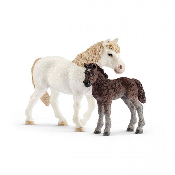 Pony Kısrak ve Yavru Schleich