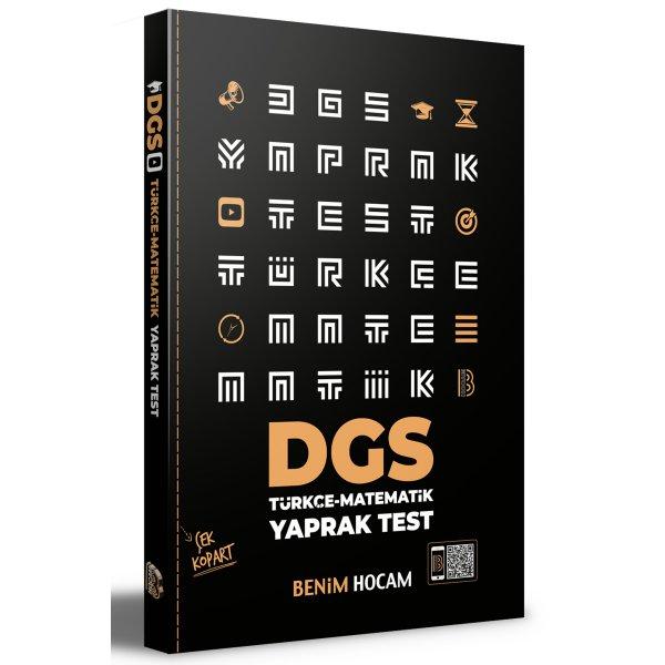 2021 DGS Çek Kopart Yaprak Test Benim Hocam Yayınları