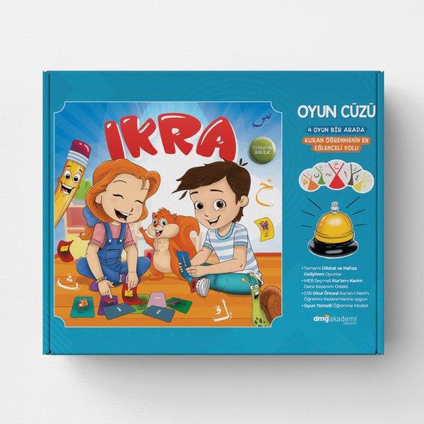 İKRA Kur'an-ı Kerim Eğitimi 4 Oyun Bir Arada Oyun Cüzü