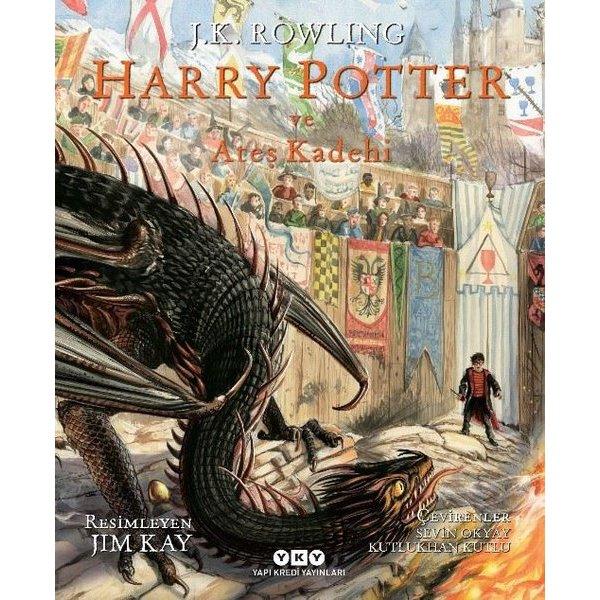 Harry Potter ve Ateş Kadehi 4 - Resimli Özel Baskı