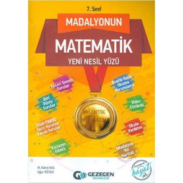 7. Sınıf Matematik Madalyonun Yüzü Gezegen Yayınları