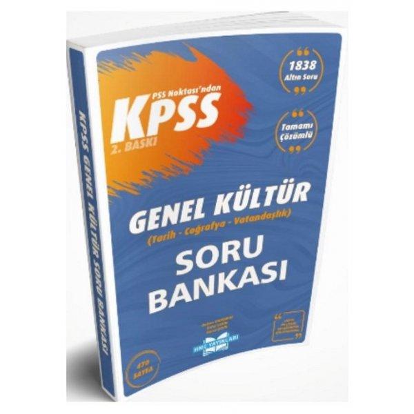 2021 KPSS Noktası Genel Kültür Soru Bankası Çözümlü HMC Yayınları