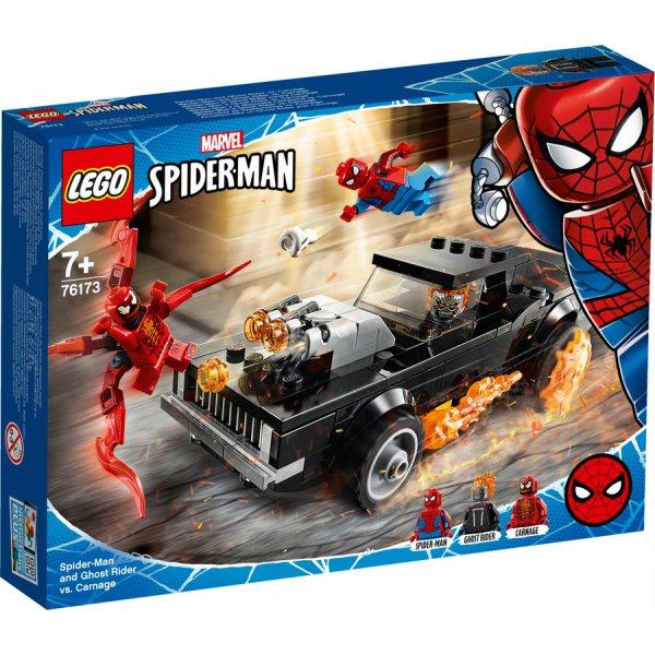 76173 Örümcek Adam ile Ghost Rider Carnage'a Karşı LEGO