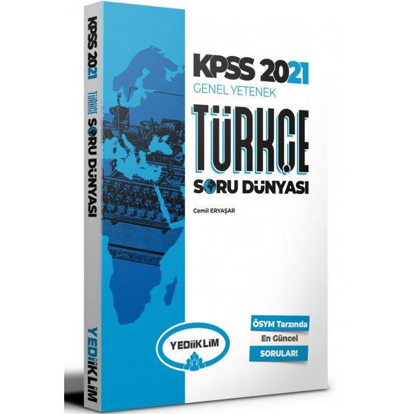 2021 KPSS Genel Yetenek Türkçe Soru Dünyası Yediiklim Yayınları