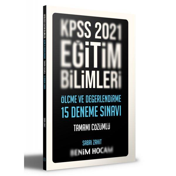 2021 Eğitim Bilimleri Ölçme ve Değerlendirme Tamamı Çözümlü 15 Deneme Benim Hocam Yayınları