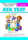 1. Sınıf Ata Test (Çek Kopar) Tüm Dersler Ata Yayıncılık