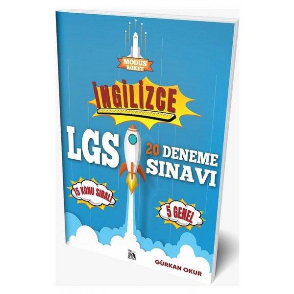 Modus Yayınları 8. Sınıf LGS İngilizce Roket 20 Deneme
