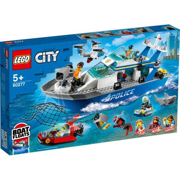 60277 Police Patrol Boat