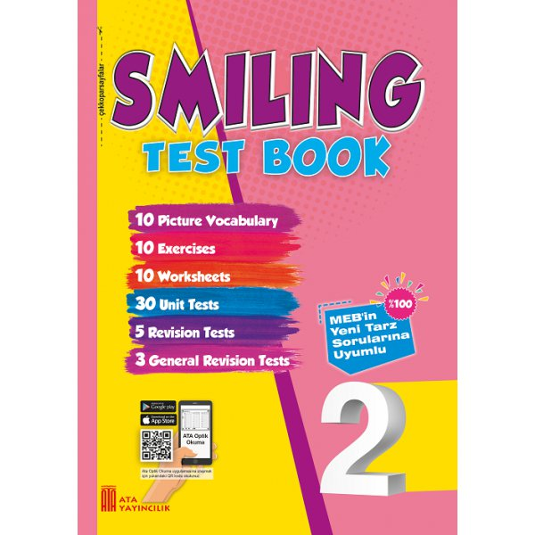 2. Sınıf Smiling Test Book Ata Yayıncılık