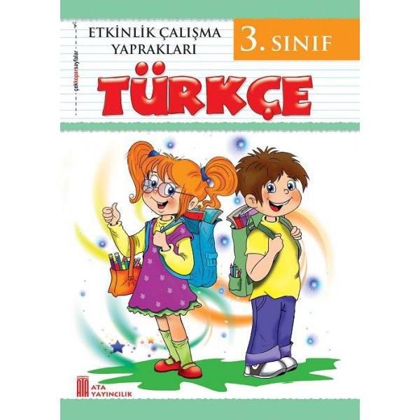 3. Sınıf Etkinlik Çalışma Yaprakları Türkçe Ata Yayıncılık