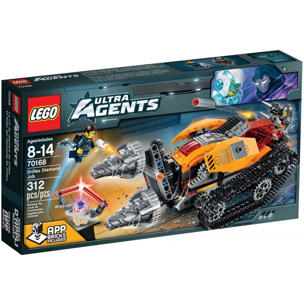 LEGO 70168 Ultra Agents Drillex Diamond