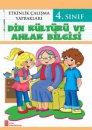 4. Sınıf Etkinlik Çalışma Yaprakları Din Kültürü ve Ahlak Bilgisi Ata Yayıncılık
