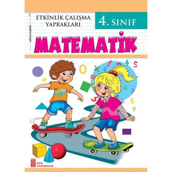 4. Sınıf Etkinlik Çalışma Yaprakları Matematik Ata Yayıncılık