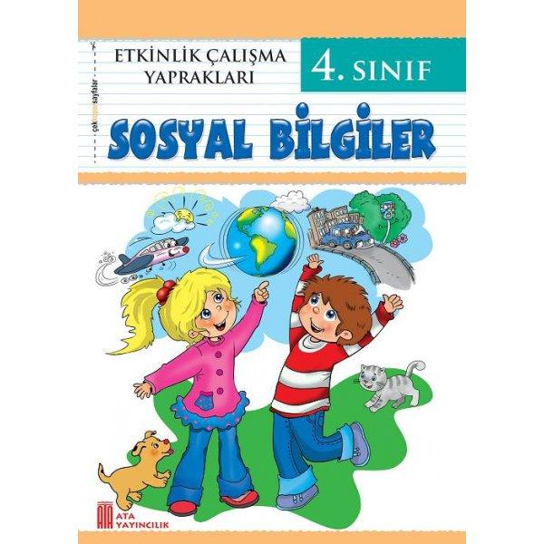 4. Sınıf Etkinlik Çalışma Yaprakları Sosyal Bilgiler Ata Yayıncılık