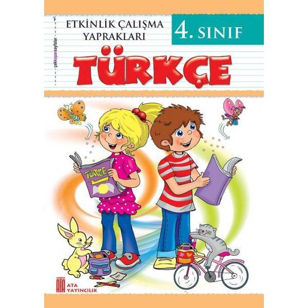 4. Sınıf Etkinlik Çalışma Yaprakları Türkçe Ata Yayıncılık
