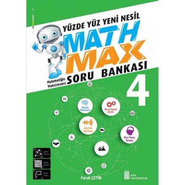 4. Sınıf Math Max Soru Bankası Ata Yayıncılık